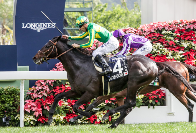 Moreiras Crown Foils The Favourite In A Longines Hong Kong Vase