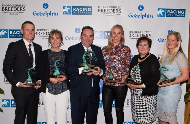 Jeremy Rogers honoured for Excellence at Godolphin Stud and